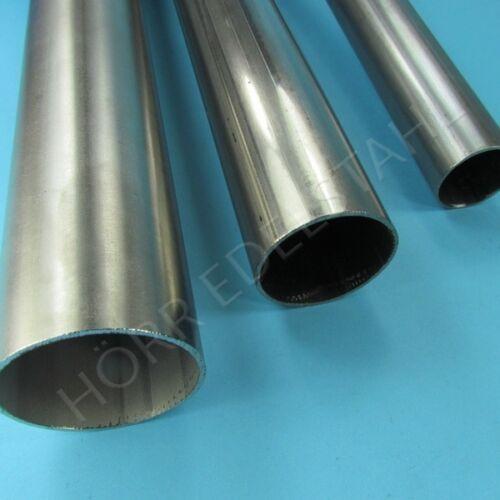 1 Meter Edelstahl Rohr 65mm V2A Auspuffrohr Edelstahlrohr Abgasrohr Auspuff