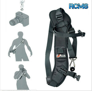 Focus-F-1-Quick-Rapid-Single-Shoulder-Sling-Belt-Strap-for-Camera-DSLR-UK-STOCK
