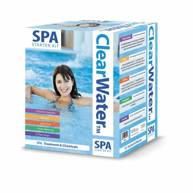Bestway Clearwater - Spa Starter Kit for Hot Tubs Spas Lay-Z Spa CH0018