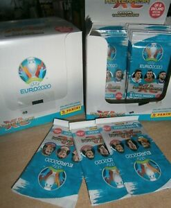 25 Booster//200 Cards Panini Adrenalyn XL UEFA Euro em 2020 Starter pack
