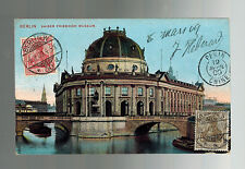 1909 Berlin Germany to Pekin China Postcard Cover French Colonial Soldier