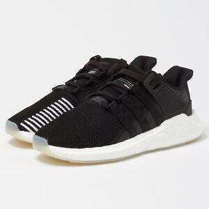 485e8a8033c1 Adidas Originals Men s EQT SUPPORT 93 17 BLACK Running Shoes BZ0585 ...