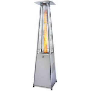 Garden Radiance Stainless Steel Pyramid Outdoor Patio Heater - GRP4000