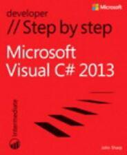 Microsoft Visual C# 2013 Step by Step (Step by Step Developer), Sharp, John, Goo
