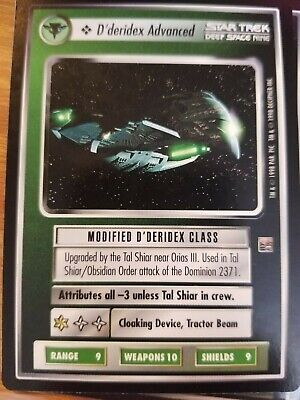 Star Trek CCG The Dominion D/'deridex Advanced NrMInt-Mint