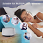 thumbnail 3 - Letsfit White Noise Machine with Night Light for Sleeping, 14 High Fidelity Slee