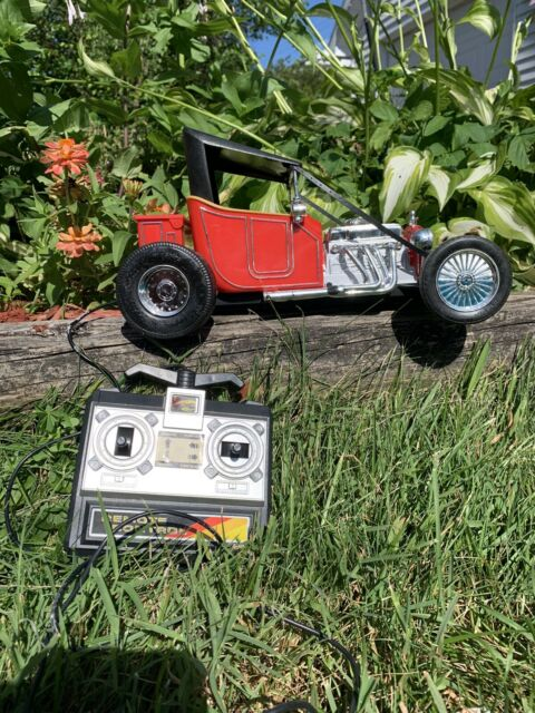 Vintage Red Model T Remote Control Rc Car By Toy State