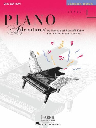 FABER PIANO ADVENTURES LEVEL 1-LESSON MUSIC BOOK BRAND NEW KEYBOARD 51 SONGS!!