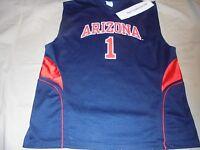 University of Arizona Wildcats Basketball NCAA Jersey #1 Adult XL