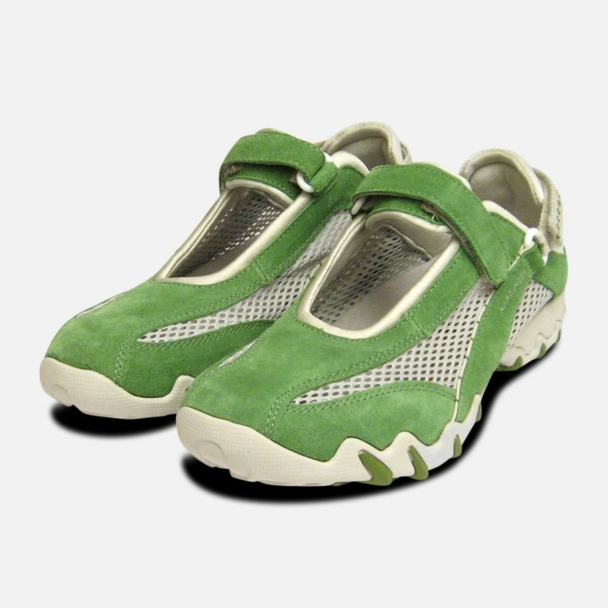 miglior prezzo Niro In In In Kiwi verde Scamosciato Da Mephisto Donna scarpe da ginnastica Scarpe Da Ginnastica Di Marca  buona qualità