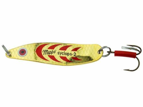 Details about  /Mepps Syclops #0 8g 50mm Bait Spoon Pike Perch Zander Trout colours show original title
