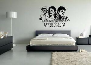 Image Is Loading Michael Jackson Wall Mural Vinyl Decal Sticker Decor