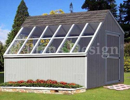 10 X 12 Backyard Storage Shed Garden Greenhouse Project Plans 41012 Ebay