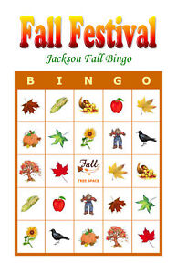 image is loading fall festival holiday party game activity bingo cards