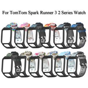 Brazaletes-de-silicona-flexible-For-TomTom-Spark-Runner-3-2-Series-Watch