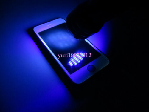 21 LED UV Black Light Flashlight for LOCA Glue Cure iPhone and Samsung Repair