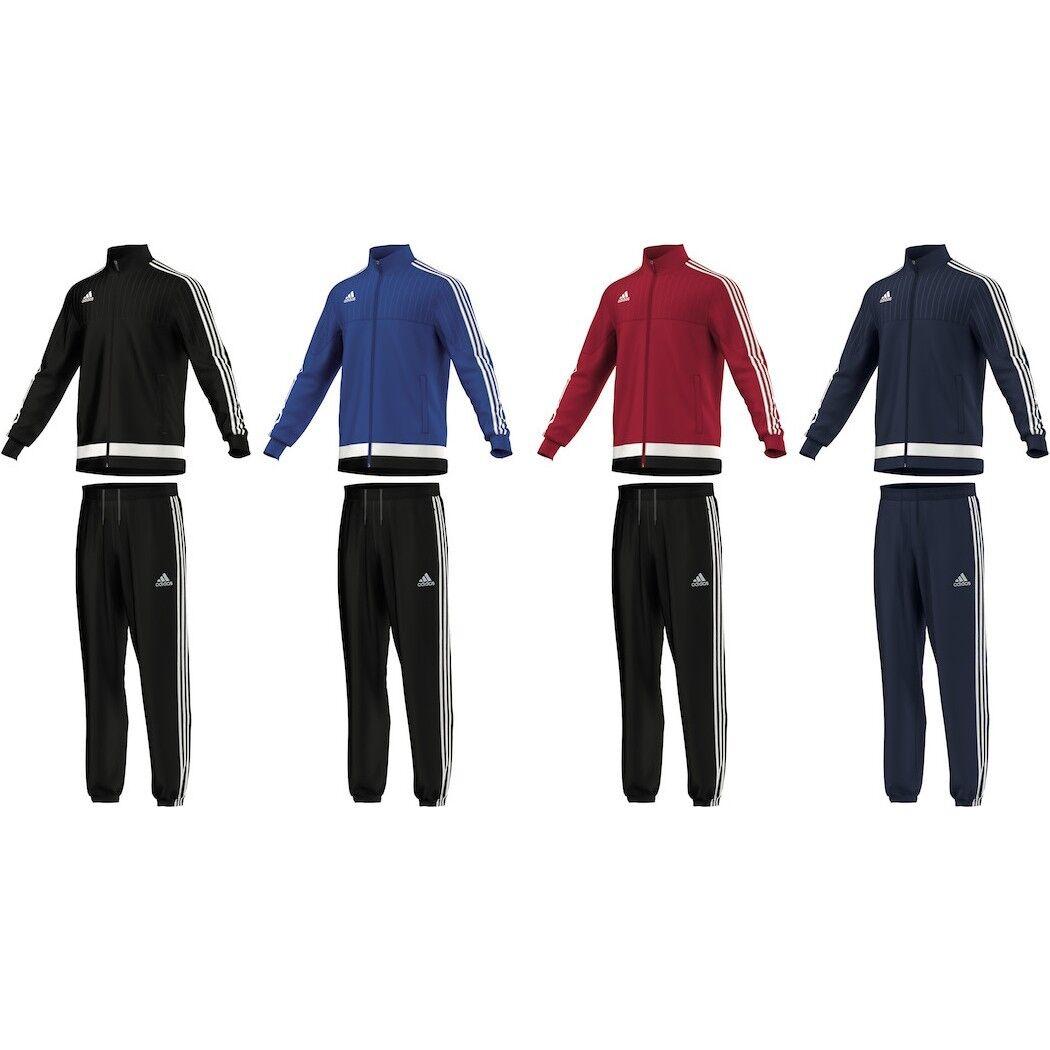 Adidas tiro 15 présentation survêtement costume survêtement présentation [m64057] f921ad
