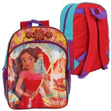 1 Disney Junior Elena Of Avalor Born To Lead Backpack With Front Zipper Pocket