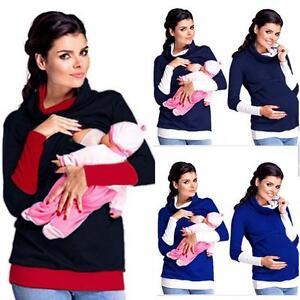 Women-Maternity-Clothes-Breastfeeding-Tops-Nursing-Long-Sleeve-Blouse-ZZK