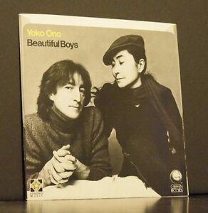 f6bb30dd43b4 Yoko Ono John Lennon Beautiful Boys Woman 45 RPM 1981 Record Sleeve ...