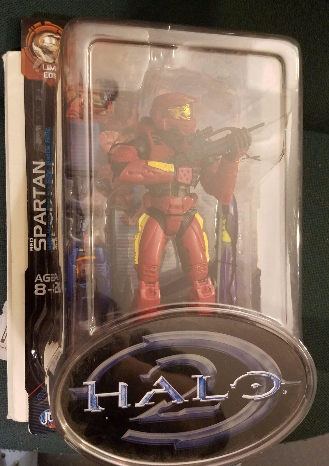 Joyride Halo 2 Red Spartan Heavy Plasma Rifle Limited Edition NEW