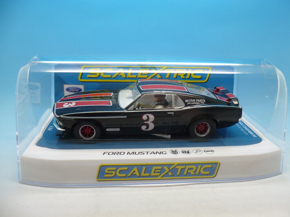 Scalextric C4014 Ford Mustang Trans AM 1972 Ohn Gimbel mint unused