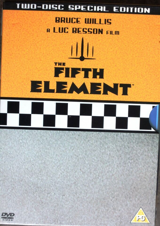 7535. THE FIFTH ELEMENT, DVD, drama