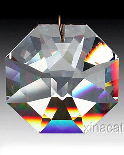 Swarovski 40mm 8115 Octagon Austrian Crystal Clear Prism SunCatcher 1.57 inches