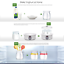 thumbnail 7 - Flora Yogurt Maker 1.5L 7 Glass Jars Automatic Yoghurt Rice Wine DIY Machine.
