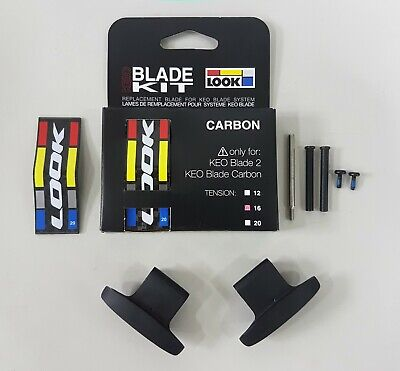 12Nm //16Nm //20Nm Look KEO Blade 2 Pedal Clipless Replacement Carbon Blade Kit