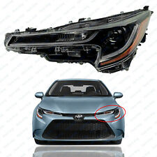 For 2020 2021 Toyota Corolla L Le Headlight Headlamp Assembly Led Drl Driver