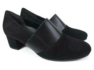 neueste auswahl marktfähig gute Textur Details zu GABOR Comfort Leder Schuhe Trotteur Hochfront Pumps Weite G NEU  UVP 99,95