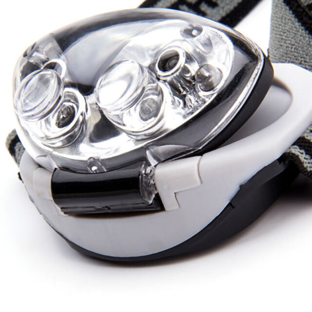 New 3 Modes Bright 6 LED Head Lamp Light Torch Headlamp Headlight Sports Goods C