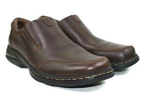 Dunham-Bradford-Men-039-s-Brown-Full-Grain-Leather-Loafer-Size-9-D