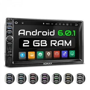 AUTORADIO-CON-ANDROID-6-0-1-NAVIGATION-GPS-WIFI-OBD2-USB-WMA-BLUETOOTH-2DIN
