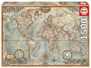 Map-Of-The-World-1500-Piece-Educa-Jigsaw-Puzzle