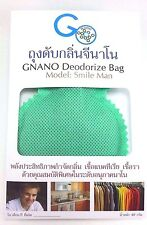 NANO DEODORANT BAG MODEL SMILE MAN/ NOT BAD SMELL/ANTIGERMS WHEREVER THE PLACE