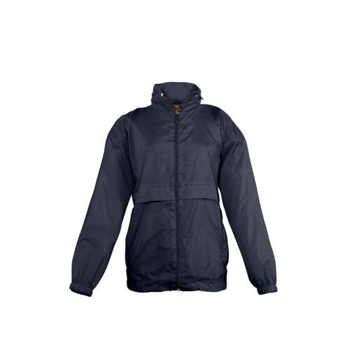 SOL Kids Unisex Surf Windbreaker Jacket Waterproof Nylon Outerwear Top Rain Coat