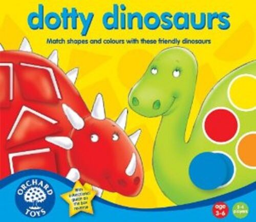 Orchard Toys Educational Games Dotty Dinosaurs Brand New