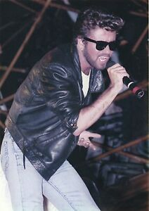 GEORGE-MICHAEL-PHOTO-LIVE-AID1985-UNIQUE-IMAGE-UNRELEASED-HUGE-12INCH-EXCLUSIVE