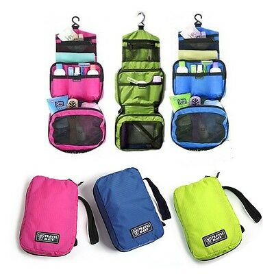 Hanging Toiletry Cosmetic Make up Wash Bag Holder Beauty Organizer For Travel