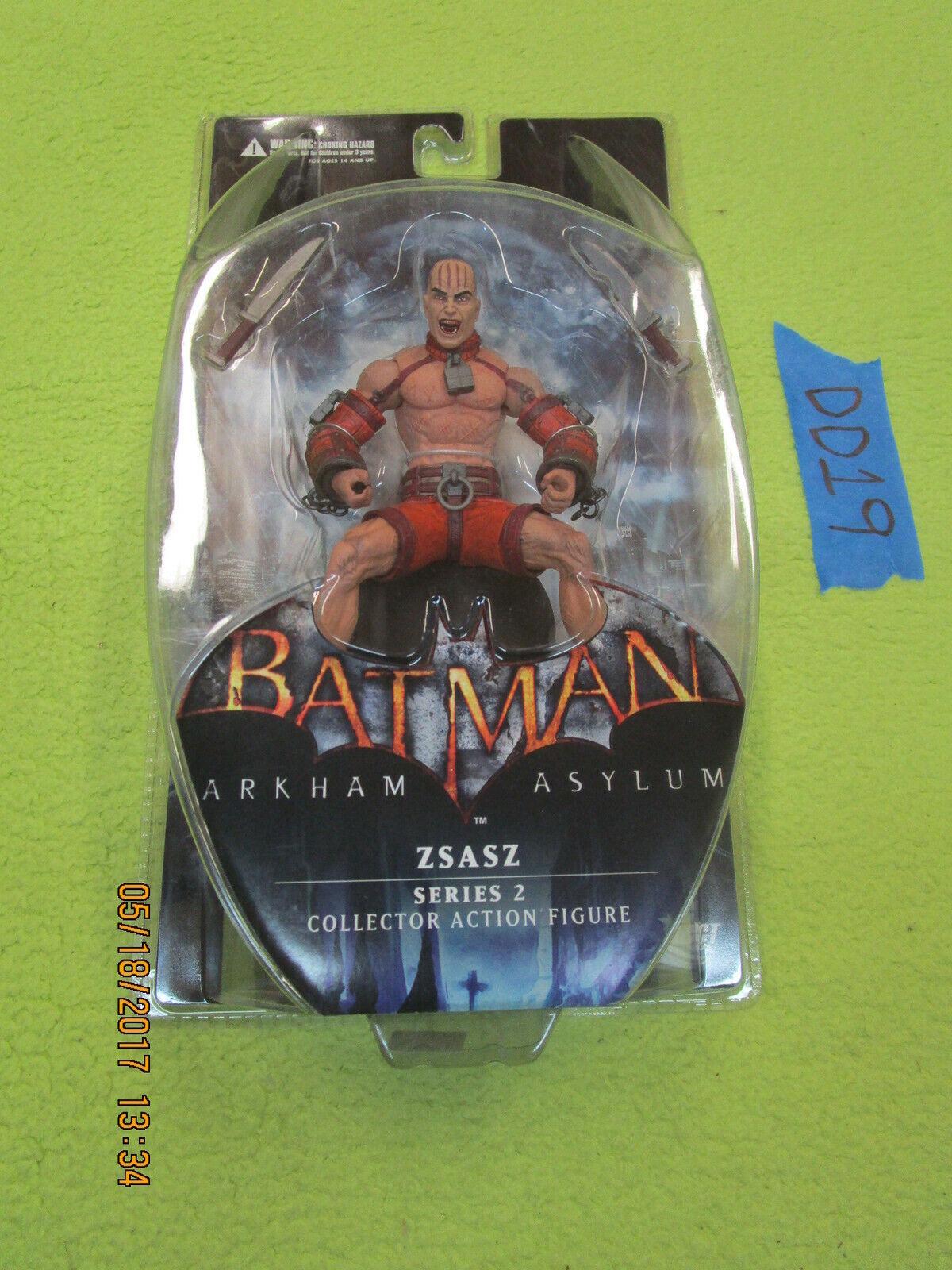 Lote De Batman DD19 DC Direct Manicomio Arkham serie 2 Figura de Acción Zsasz ciudad origen