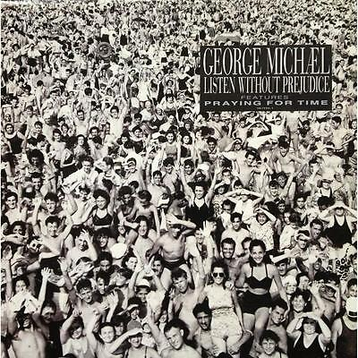 George Michael Listen Without Prejudice Album Cover Canvas Art Poster Print cd | eBay