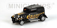 """Minichamps American Hot Rod """"black with Flames"""", 1:43 Limited Edition"""