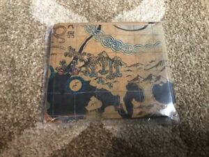 God-of-War-4-Stone-Mason-Collector-039-s-Edition-PS4-Cloth-Map-Tapestry-ONLY