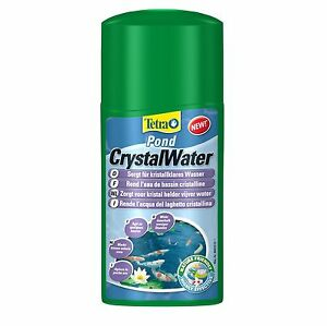 Tetra-Pond-Crystal-Water-250ml-Treatment-Effectively-Clears-Dirty-Pond-Water