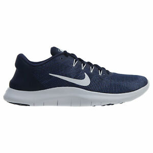 0093f7226436d NEW Nike Men s Flex 2018 RN Running Sneakers Blue And White AA7397 ...