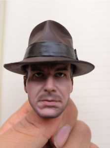 """Henry /""""Indiana/"""" Jones Harrison Ford Head Sculpt  for 12/"""" action figure 1//6 Dr"""