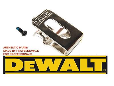 DeWALT Belt Clip Hook /& Screw DCD737 DCD740 DCD780 DCD780L2 DCD785 DCD785L