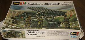 REVELL-Modell-1-35-SOWJETISCHE-STALINORGEL-KATIUSZA-WW2-VINTAGE-60s-70s